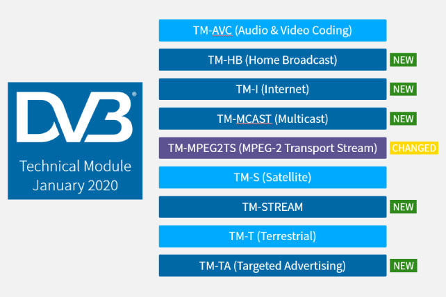 New structure for DVB Technical Module